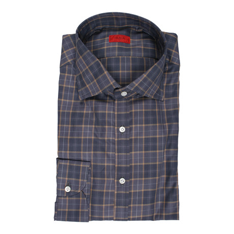 Philip Checkered Dress Shirt // Gray (US: 15R)