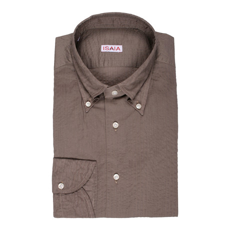 Gigante Dress Shirt // Olive (US: 15R)