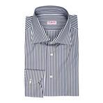 Isaia // Cirillo Striped Dress Shirt // Green (US: 16R)