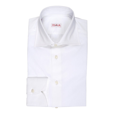 DeFeo Dress Shirt // White (US: 15R)