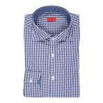 Carfano Checkered Dress Shirt // Blue (US: 15R)