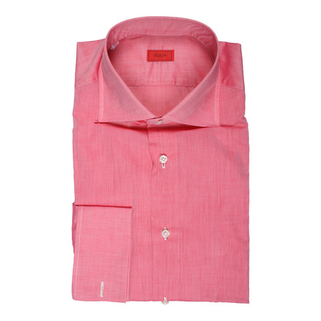 Ardito Dress Shirt // Pink (US: 15R)