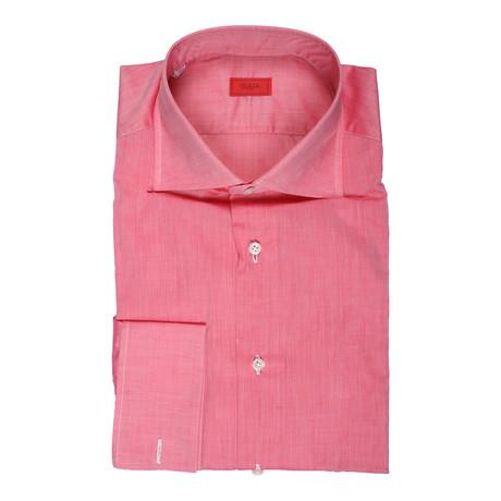 Isaia // Ardito Dress Shirt // Pink (US: 15R)