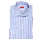 Valachi Striped Dress Shirt // Blue (US: 15.75)