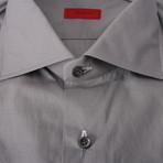 Isaia // Strollo Dress Shirt // Gray (US: 15R)