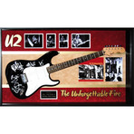 Signed + Framed Guitar // U2