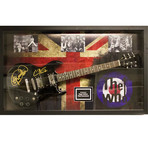 Signed + Framed Guitar // Who
