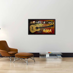 Signed + Framed Guitar // ABBA Autographed Guitar