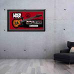 Signed + Framed Guitar // Linkin Park Autographed Guitar