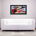 Signed + Framed Guitar // Monkees