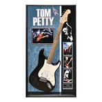 Signed + Framed Guitar // Tom Petty