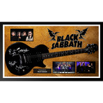 Signed + Framed Guitar // Black Sabbath
