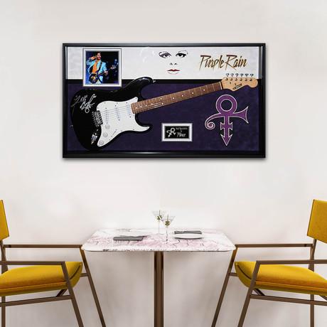 Signed + Framed Guitar // Prince