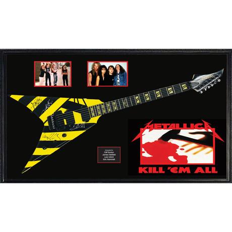 Signed + Framed Guitar // Metallica
