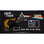 Signed + Framed Guitar // Pink Floyd