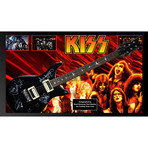 Signed + Framed Guitar // Kiss