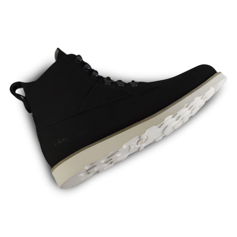 Cedar Boot Black Vegan (Euro: 42) EKN Footwear Touch