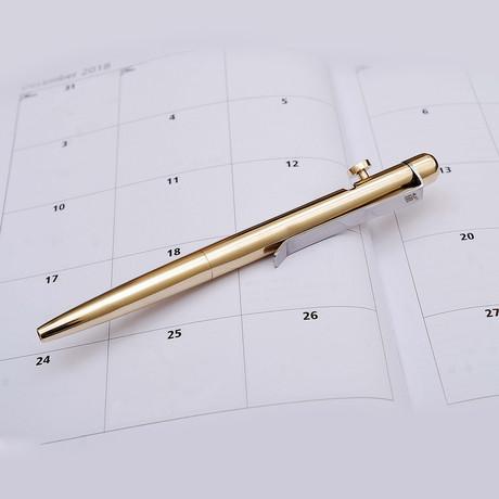 Brass Ballpoint Pen // 8006