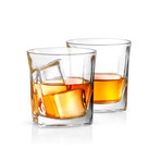 Luna Crystal Whiskey Glasses // 10.5 oz // Set of 4