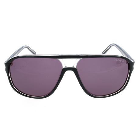Lagerfeld // Men's KL722S-15064 Sunglasses // Black + Crystal