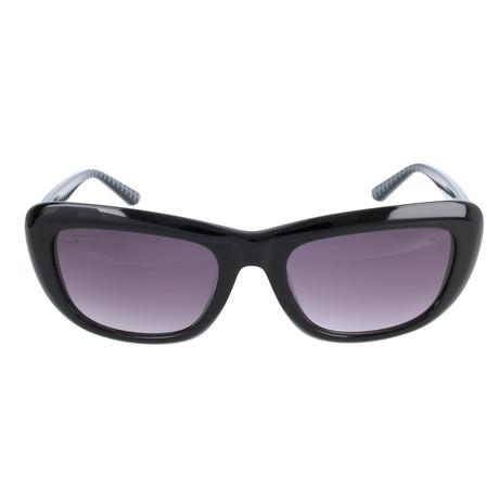 Lagerfeld // Women's KS6014-21778 Sunglasses // Black
