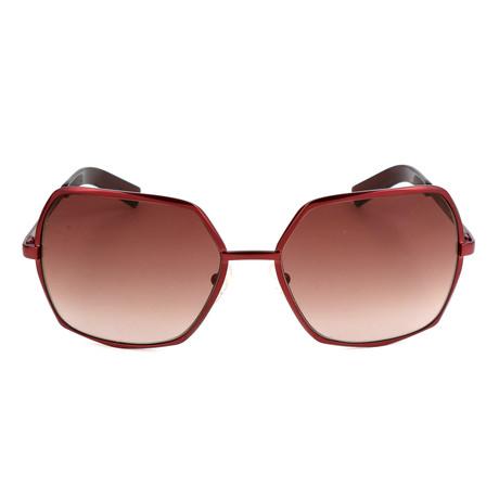 Lagerfeld // Unisex KL230S-26097 Sunglasses // Satin Burgundy