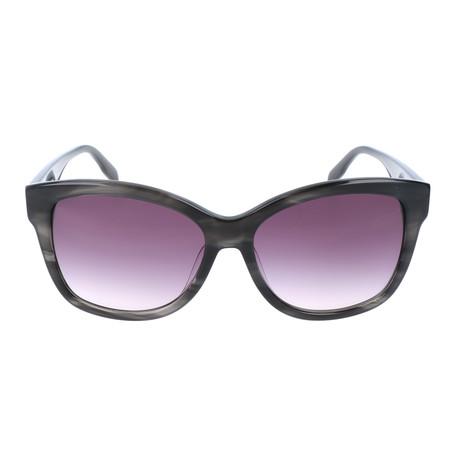 Lagerfeld // Women's KL909S-30071 Sunglasses // Gray Striped