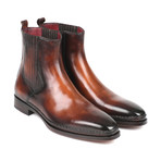 Chelsea Boots Burnished Leather // Brown (Euro: 42)