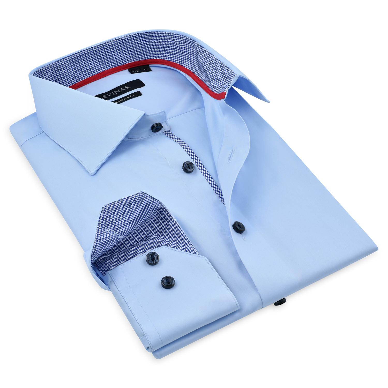 f1ee3e0c4b72a2 Button-Up Shirt    Light Blue (M) - Levinas - Touch of Modern
