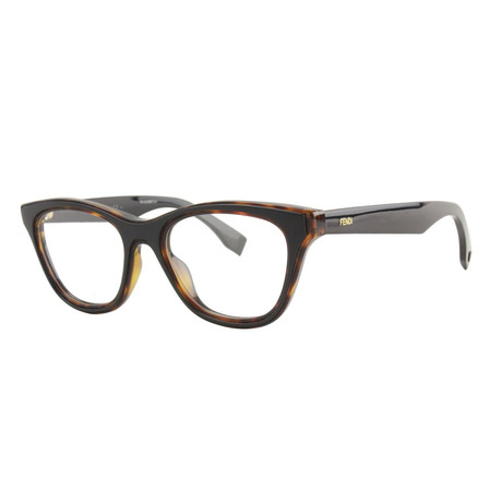 Fendi // Women's FF-0197 Optical Frames // Havana Black