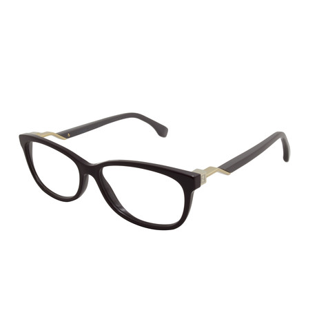 Fendi // Women's FF-0233-S85 Optical Frames // Burgundy