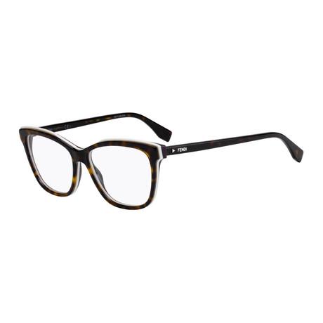 Fendi // Women's FF-0251 Optical Frames // Dark Havana