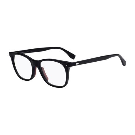 Fendi // F-M0004 Eyeglass Frames // Matte Black