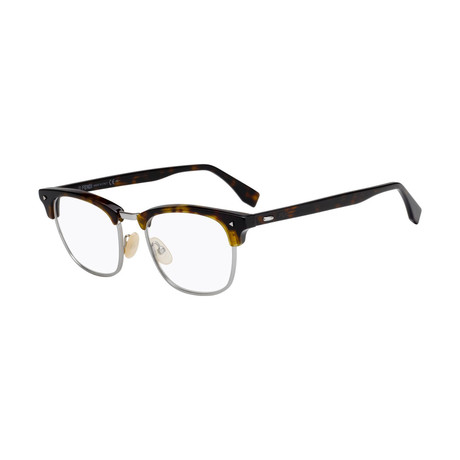Men's FF-M0006 Eyeglass Frames // Dark Havana + Gold