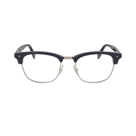 Men's FF-M0006 Eyeglass Frames // Black + Silver