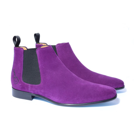 Jimi Shoe // Purple + Black (Euro: 40)