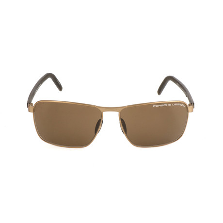 Men's P8640 Sunglasses // Gold