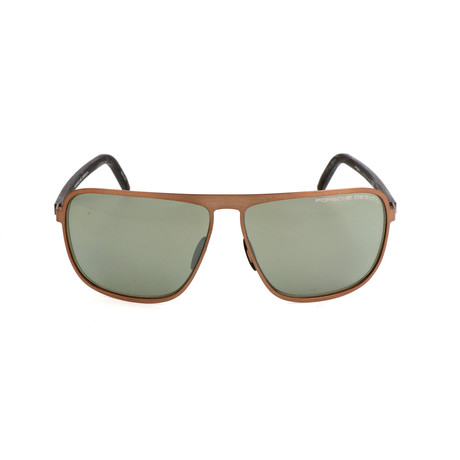 Men's P8641 Sunglasses // Brown