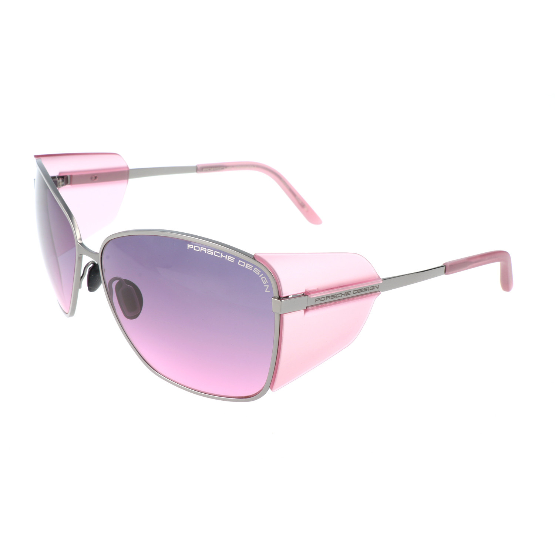 Porsche Design Women S P8599 Sunglasses Rose Gold