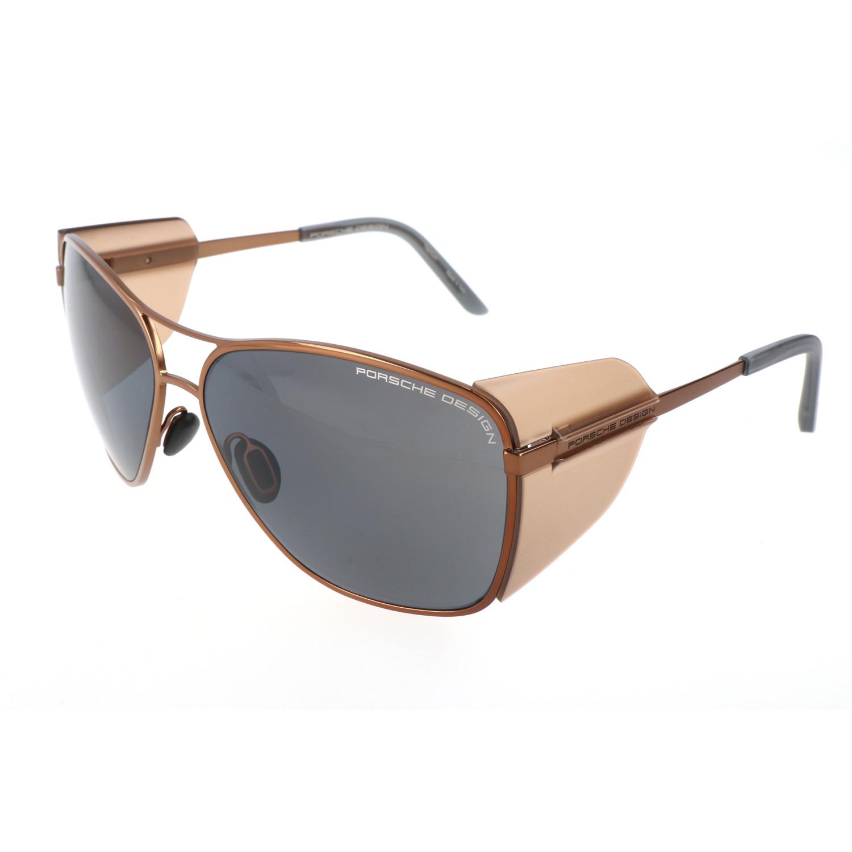Porsche Design Women S P8600 Sunglasses Brown