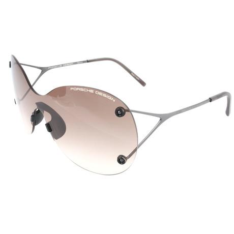 Women's P8621 Sunglasses // Gunmetal + Brown