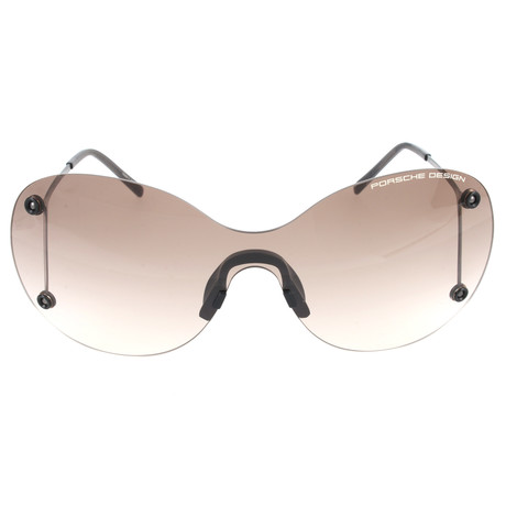 Women's P8621 Sunglasses // Gun Metal + Gray