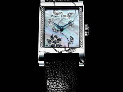 Photo of Pierre DeRoche Exceptional Luxury Timepieces Pierre DeRoche ShinyPebbles Quartz // SHP30011AC1-001 by Touch Of Modern