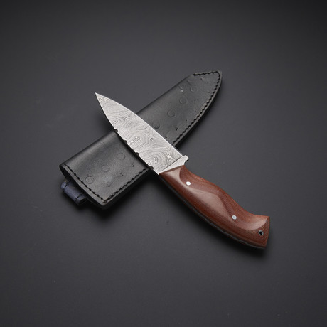 Fixed Blade Skinning Knife // HB-0014
