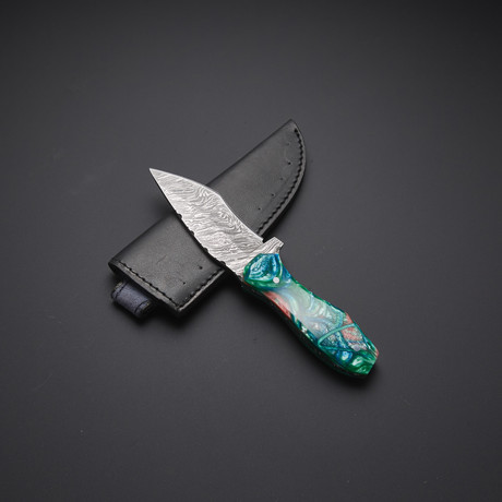 Fixed Blade Tanto Knife // HB-0046