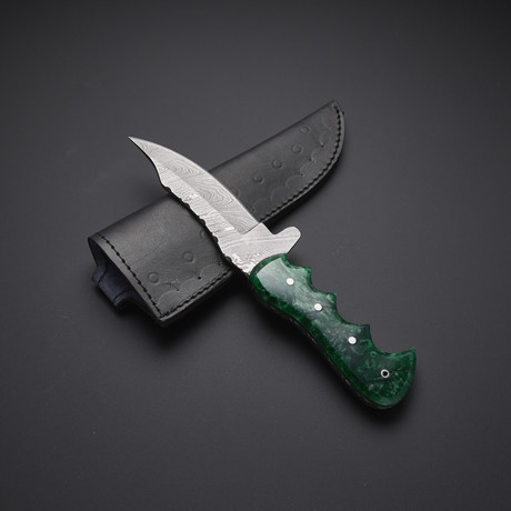 Fixed Blade Skinning Knife // HB-0037