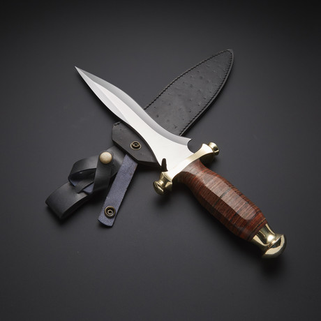 Fixed Blade Hunting Bowie Knife // RAB-0085