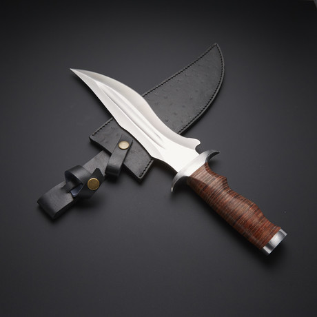 Fixed Blade Hunting Bowie Knife // RAB-0118