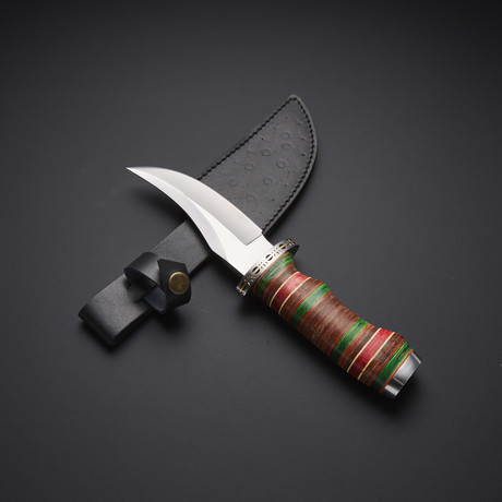 Fixed Blade Hunting Bowie Knife // RAB-0119