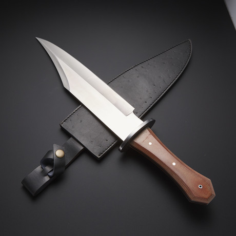 Fixed Blade Full Tang Bowie Knife // RAB-0198